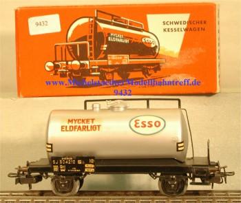"""Märklin 4524.2 Kesselwagen der SJ """"Mycket Eldfarligt"""", (9432)"""