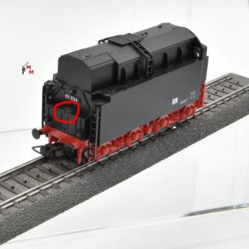 Piko 50208 Dampflok BR 01.5 Öltender der DR, Wechselstrom, digital, (21047))