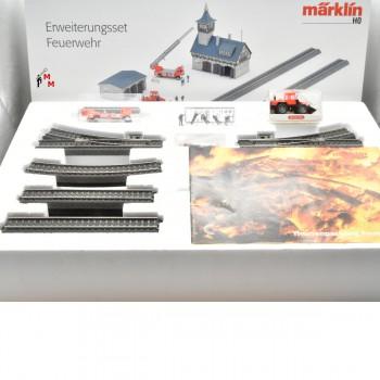 Märklin 78000 Erweiterungsset Feuerwehr, (23158)