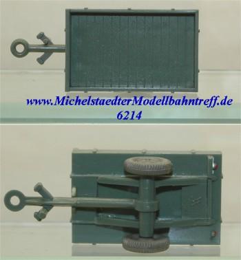 Wiking 381/1 Allgaier-Einachsanhänger, (6214)