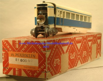 Märklin ST 800.14 Triebzug inkl. Mittelwagen ST800M.10, (4053)