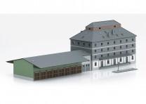 (Neu) Märklin 72706 Gebäudebausatz Raiffeisen Lagerhaus mit Markt,