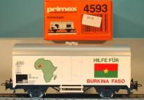 """Primex 4593 Kühlwagen """"Hilfe für Burkina Faso"""", (5115)"""