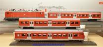 """Märklin 26507 Zugpackung """"S-Bahn-Zug"""", Lok und Steuerwagen mit Wendezugfunktion, (20329)"""