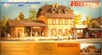 "(Neu) Vollmer 3520 Bausatz Bahnhof ""Benediktbeuern"", (10381)"