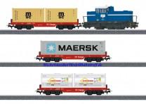(Neu) Märklin 29453 Startset Digital-Startpackung  Containerzug,