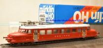 Märklin 3125.2 Schnelltriebwagen Roter Pfeil, SBB, digital Dec. 60901, (20305)