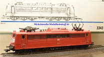 Märklin 3343.1 E-Lok BR 151 DB, digital Dec. 6090, (20275)