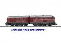 (Neu) Märklin 37285 Diesel-Doppellok BR V 188 DB, gealtert, MHI,