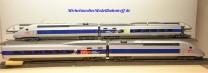 Märklin 37790 Hochgeschwindigkeitszug TGV der SNCF, inkl. 3x Ergänzugswagen, (20324)