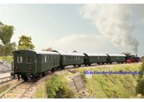 """(Neu) Märklin 43146 Personenwagenset """"Wendezug"""", Passend zur BR 74, MHI,"""