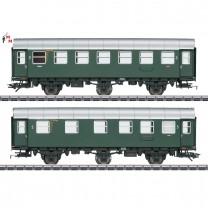 (Neu) Märklin 43174 Umbauwagen-Paar, 2./3.+3.Kl., DB, Ep.III,