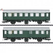(Neu) Märklin 43195 Umbauwagen-Paar, 3.Kl+Gepäckäckabteil, DB, Ep.III,
