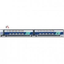 (Neu) Märklin 43433 Ergänzungswagen-Set -2- zum  TGV Duplex,