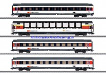 (Neu) Märklin 43651 EuroCity 4er-Set, SBB, Ep.VI,