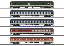 (Neu) Märklin 43917 Schnellzugwagen-Set Ep.IV, Pop Farben, MHI