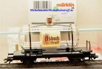 "Märklin 44523 Glaskesselwagen ""Asbach"", (20492)"