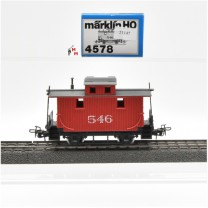Märklin 4578.1 Güterzugbegleitwagen, USA-Caboose, (21147)