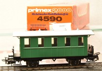 Primex 4590 -2achsiger Plattformwagen, Privatbahn, (16487)