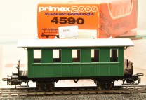 Primex 4590 -2achsiger Plattformwagen, Privatbahn, (16490)