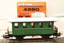 Primex 4590 -2achsiger Plattformwagen, Privatbahn, (16491)