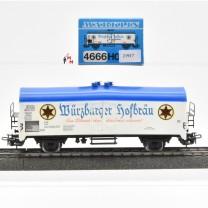 Märklin 4666 Bierwagen Würzburger Hofbräu, (21917)
