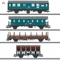 """(Neu) Märklin MHI 46690 Wagen-Set """"Bauzug"""" der DB,"""
