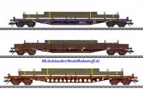 (Neu) Märklin 47160 Flachwagen-Set, CFL Cargo, Ep.VI,