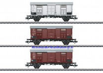 "(Neu) Märklin 47870 Güterwagen-Set ""Spitzdachwagen"" FS, 3 Wagen, MHI,"