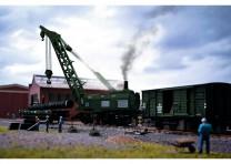 (Neu) Märklin 49570 Dampfkran Ardelt 57t, DB, Ep.IIIb,
