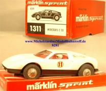 Märklin Sprint 1311 Mercedes C 111, (8281)