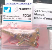 Viessmann 5235 Dreiwegweichen-Decoder C-Gleis, (14536)