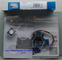 (Neu) ESU 54633 Lok Digital-Set mit 21 MTC Schnittstelle,