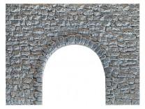 (Neu) Noch 58300 Bruchsteinmauer, Unterführung, H0,
