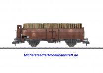 (Neu) Märklin 58309 Offener Güterwagen mit Holzbeladung, Ep.III,