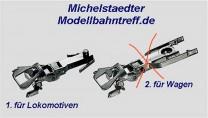 (Neu) Märklin 7205.1 Kupplung für Märklin Lokomotiven,