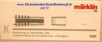 (Neu) Märklin 7287 Erweiterung zur Drehscheibe,