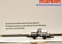 (Neu) Märklin 80128 Spielwarenmesse 2018, Spur Z,