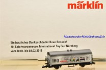 (Neu) Märklin 80129 Spielwarenmesse 2019, Spur Z,