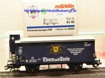 """Märklin -PMS- 84890 Bierwagen """"Thurn & Taxis"""", (20485)"""