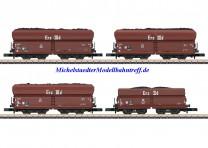(Neu) Märklin 86307 Spur Z Wagenset Kohlenverkehr, DB, Ep.IIIa, MHI,
