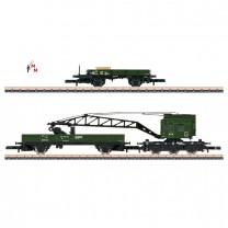 (Neu) Märklin MHI Spur Z 86572 Ergänzungs-Set zum Gleisbauzug der DB,