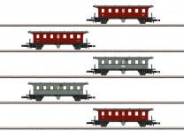 (Neu) Märklin Spur Z 87009  Wagenset Plattformwagen der K.W.Sts.E., Ep.I,