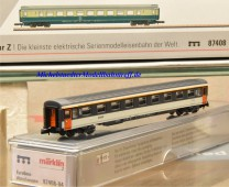 (Neu) Märklin MHI 87408-04 Spur Z Reisezugwagen der SNCF, 2. Kl.,