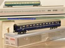 (Neu) Märklin MHI 87408-07 Spur Z Eurofima-Liegewagenwagen der SBB, 2. Kl.,
