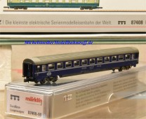(Neu) Märklin MHI 87408-09 Spur Z Eurofima-Liegewagenwagen der SBB, 2. Kl.,