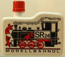(Neu) Modellbahnöl SR24, Dampf- und Reinigungsöl,