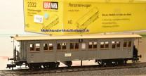 Brawa 2332 4-achsiger Personenwagen 4. Kl. der K.W.St.E., (11742)