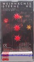 (Neu) Busch-Weihnachten 5416 Weihnachtssterne rot, beleuchtet,