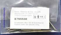 (Neu) Märklin E765530 Zugfedern, 30mm, einzeln,